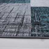 Modern vloerkleed Galant 8001 kleur Turquoise_