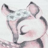 Kindervloerkleed Sunny Pink 850_