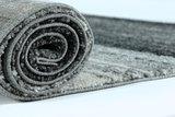 Aanbieding vintage vloerkleed of karpet Timor 1802 Antraciet  _