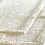 Effen vloerkleed zuiver wol Sera kleur ivoor_