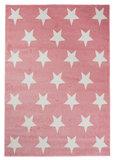 Modern vloerkleed Alanis L896A kleur Roze_