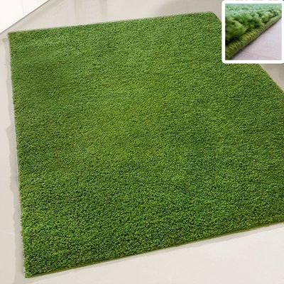 Hoogpolig vloerkleed Atlanta Shaggy Groen 380
