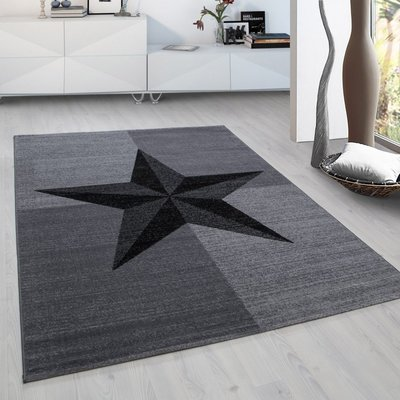Modern vloerkleed Galant 8002 kleur Grijs