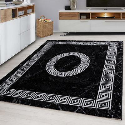 Modern vloerkleed Galant 8009 kleur Zwart