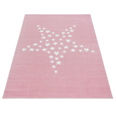 Kindervloerkleed Sunny Pink 870