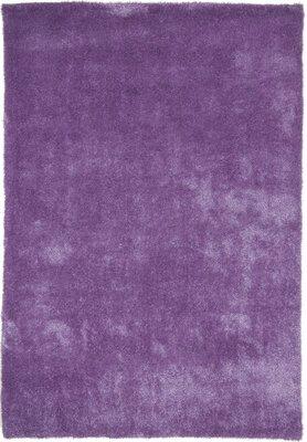 Effen vloerkleed Alaska Purple 220