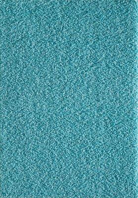 Hoogpolig effen vloerkleed Aqua Seram 1300