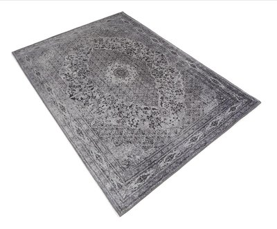 Vloerkleed Tabriz   Zwart