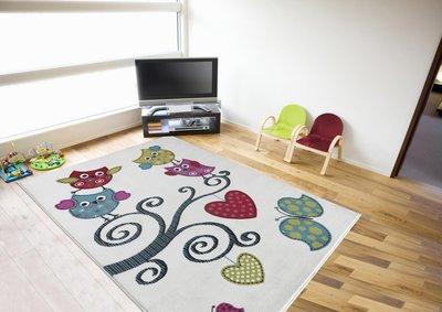 Kinderkamer tapijt Child 0420/AY Wit
