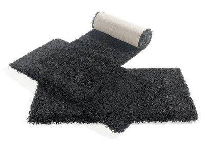 Hoogpolig tapijt Atlanta 642 Zwart