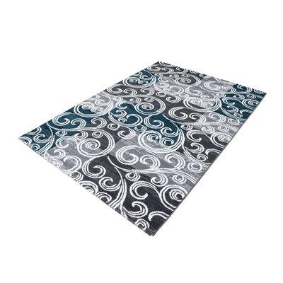 Vloerkleden patchwork Mallorca 3130/AY Turquoise