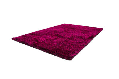 Zwart paars vloerkleed Axel Purple / Zwart