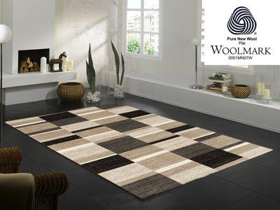 Wollen vloerkleden Wool Plus 458 cappuccino