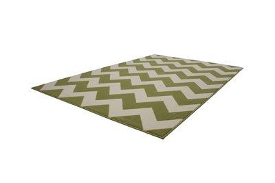 Groen modern vloerkleed Manoa
