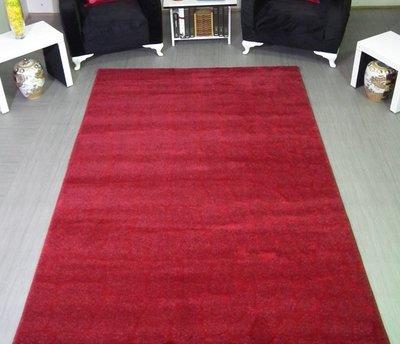 Rood hoogpolig vloerkleed Astrix 181 Rood