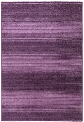 Violet effen vloerkleed Maldy 180 Violet