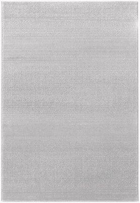 Effen grijs vloerkleed Maldy 180 Grijs