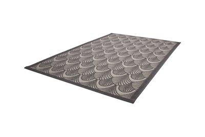 Vintage tapijt Elba grijs