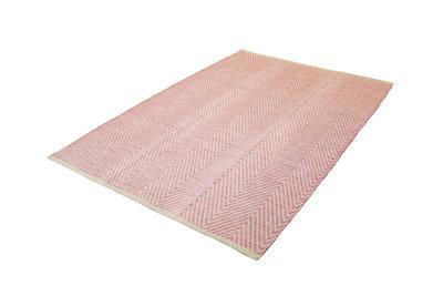 Wollen vloerkleed in de aanbieding Retif wol kleur Roze