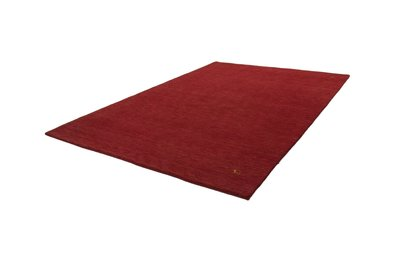 Wollen vloerkleed handgeknoopt Belma Rood