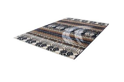 Blauw Oosters vloerkleed, tapijt of karpet Orienta