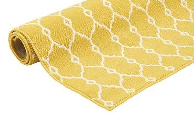 Vloerkleden en tapijten geel Paros