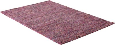 Vloerkleed of karpet gemeleerd Solor 2000 Pink