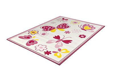 Kinderkamer vloerkleed of karpet Adi 2104 White