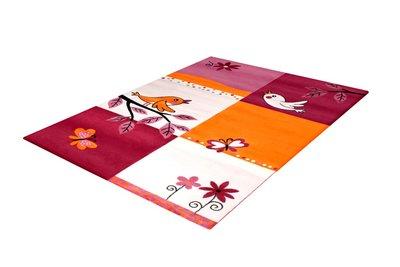 Karpetten voor de kinderkamer Adi 2103 Pink