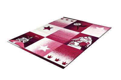 Vloerkleden voor kinderkamer Adi 2101 Pink