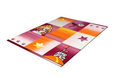 Vloerkleed voor kinderkamer Adi 2101 Lichtpink