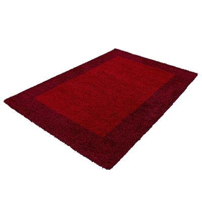 Rode hoogpolige vloerkleden Adriana Shaggy  1503/AY