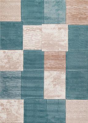 Vloerkleed Fransica 1166 kleur Turquoise