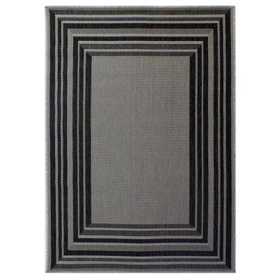 Sisal look vloerkleed Floriade Latina kleur grijs