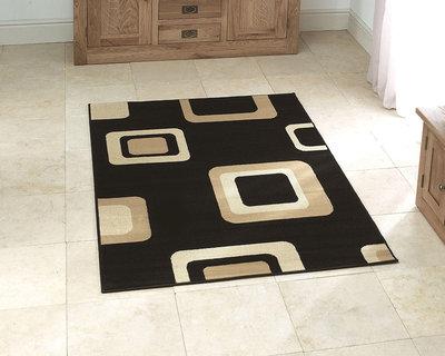 Vloerkleed Praxim kleur zwart 2751