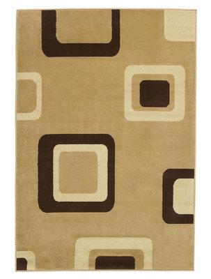 Vloerkleed Praxim kleur beige 2751