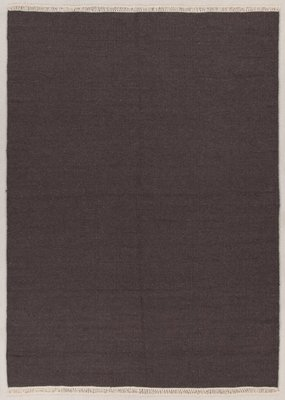 Zuiver wol vloerkleed Verzo kleur D.Bruin