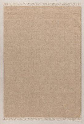 Zuiver wol vloerkleed Verzo kleur Zand