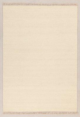 Zuiver wol vloerkleed Verzo kleur Ivoor