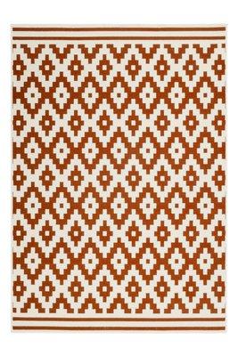 Designer vloerkleed Stellos Ecru Oranje
