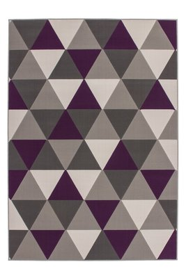 Designer vloerkleed Stellos Multi Purple