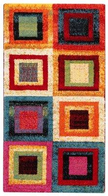 Modern vloerkleed Gerge kleur Multi