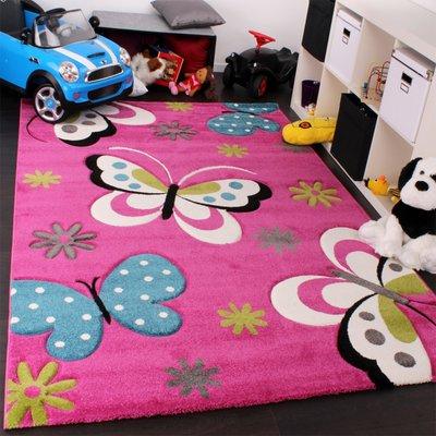 Kinderkamer vloerkleed Kelly 772 Pink 17