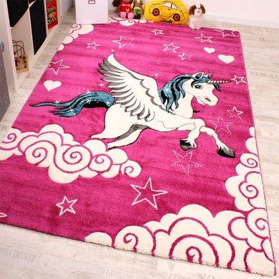 Kinderkamer vloerkleed Kelly 640 Pink 17