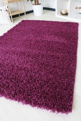 Hoogpolig vloerkleed violet Calys 170