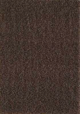 Donkerbruin hoogpolig vloerkleed of karpet Seram 1300