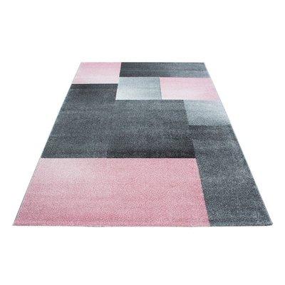 Modern vloerkleed Luciana 1810 kleur pink