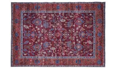 Vloerkleed Perz kleur rood