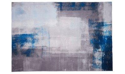 Vloerkleed Memphis kleur Blauw
